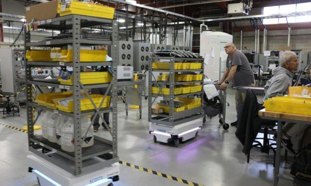 How Autonomous Mobile Robots Are Improving Productivity