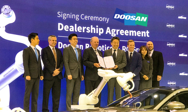 RG Group announces distribution & integration partnership with Doosan Robotics